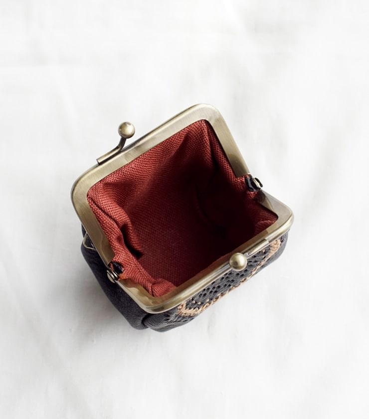 Yammart(ヤマート)カウレザーステッチがま口コインケース coin-case-01-02-03