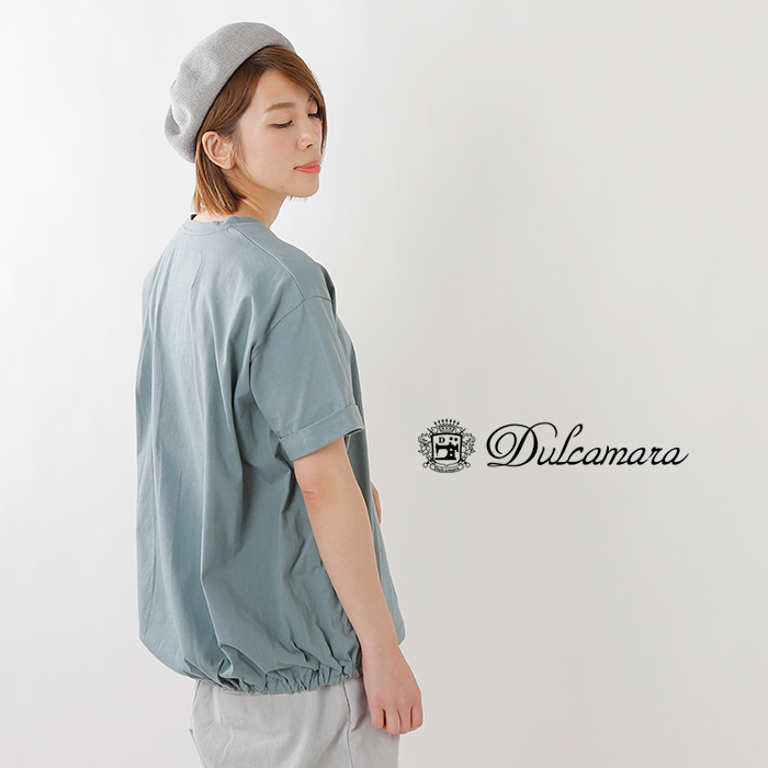 Dulcamara(ドゥルカマラ)コットンバルーンTシャツ d119-t800
