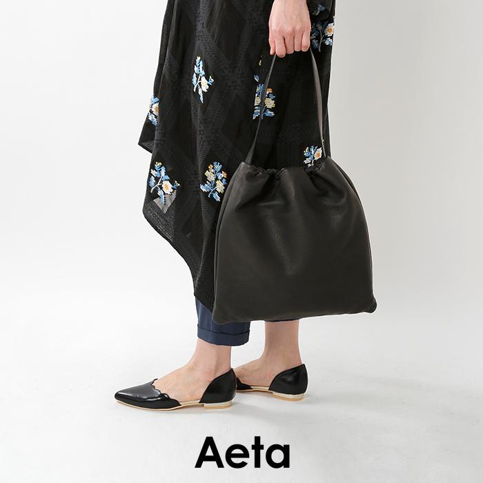 """Aeta(アエタ)ディアレザーショルダーバッグM""""DEER SHOULDER M"""" da02"""