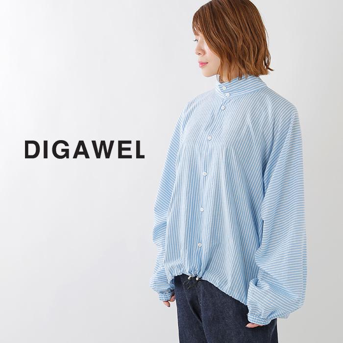 DIGAWEL(ディガウェル)シルク混ブロードブルゾン dwsoa018