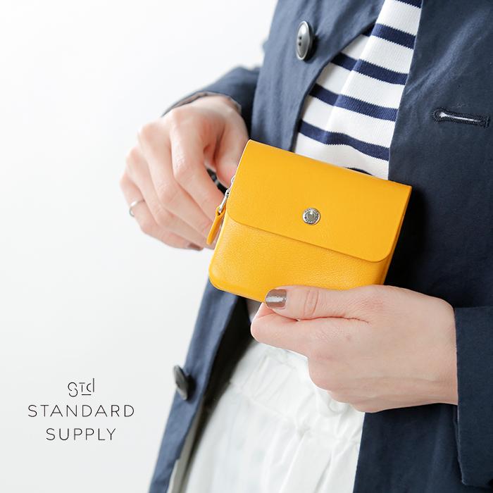 "STANDARD SUPPLY(スタンダードサプライ)レザーフラップウォレットS""PAL"" flap-wallet-s"