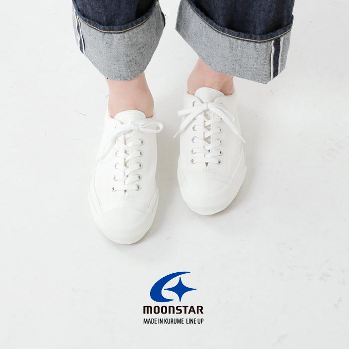 "Moonstar(ムーンスター)キャンバススニーカー""GYM COURT"" gymcourt"