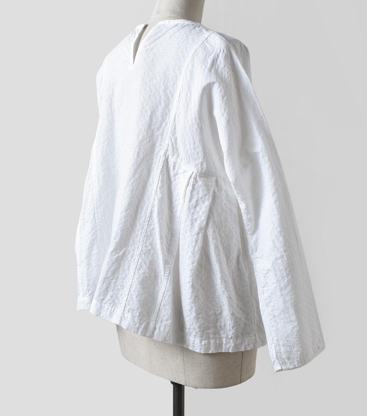 "TOUJOURS(トゥジュー)プルオーバーケディヤシャツ""Pull Over Kediya Shirt"" km30ss03"