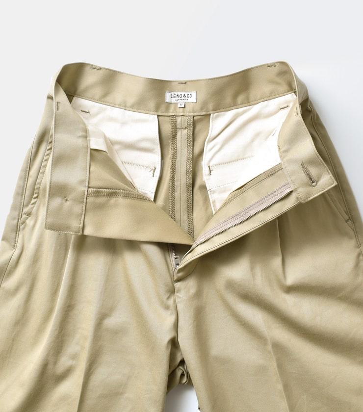 "LENO(リノ)バギーチノトラウザーズ""Baggy Chino Trousers"" l1901-pt002"