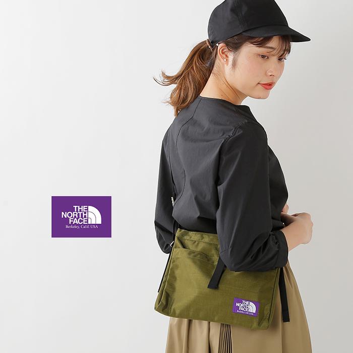 "THE NORTH FACE PURPLE LABEL(ノースフェイスパープルレーベル)ナイロンオックススモールショルダーバッグ""Small Shoulder Bag"" nn7757n"