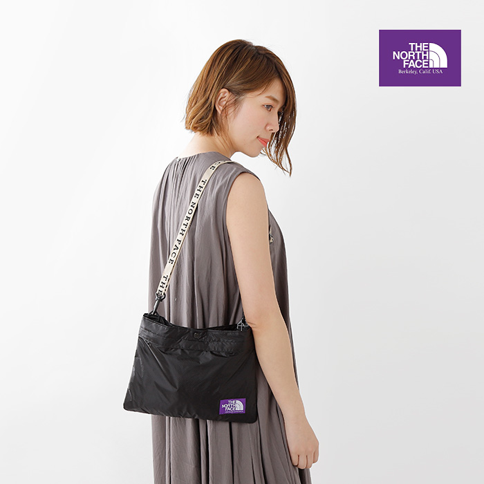 THE NORTH FACE PURPLE LABEL Lightweight Logo Tape Shoulder Bag Sacoche Japan
