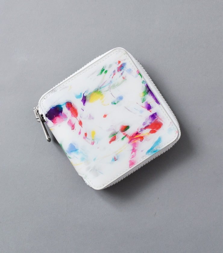 macromauro(マクロマウロ)マルチカラーノーマルペイントウォレット paintwallet