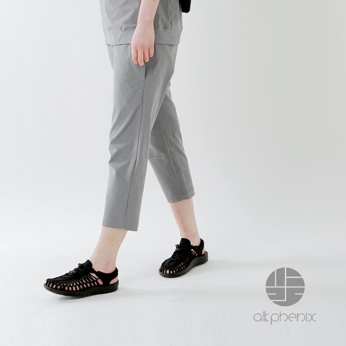 "alk phenix(アルクフェニックス)撥水防風ストレッチ素材テック裏毛アンクルパンツ""crank ankle pants"" po912pa26"