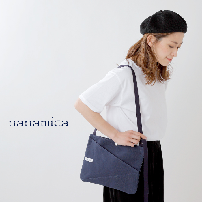 nanamica(ナナミカ)キャンバスショルダーバッグ suos970