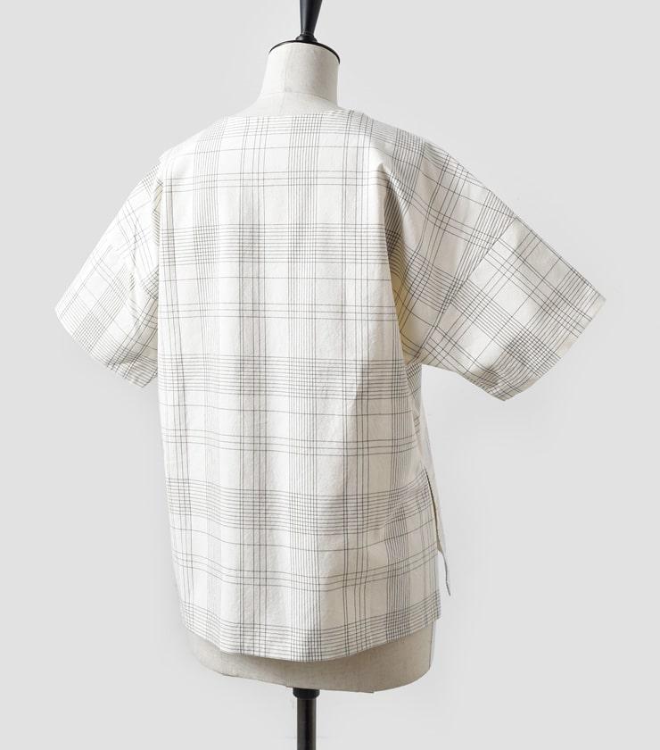 THE HINOKI(ザ ヒノキ)オーガニックコットンプルオーバーシャツ th19s-17