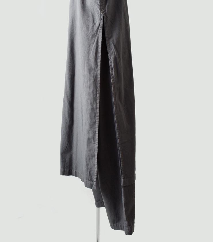 THE HINOKI(ザ ヒノキ)オーガニックコットンツイル スタンドアップカラーオールインワン th19s-21-c