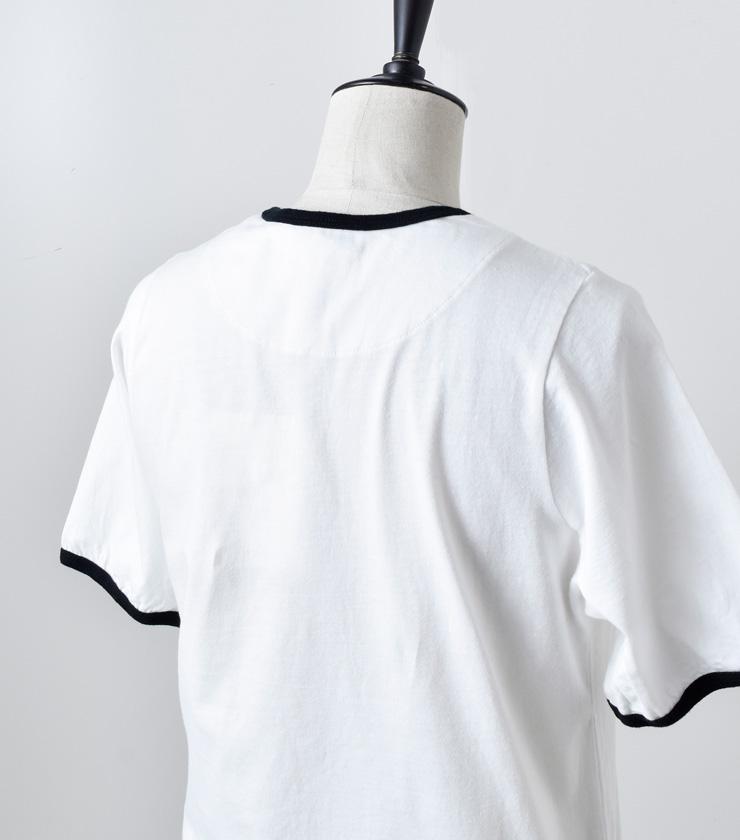THE HINOKI(ザ ヒノキ)オーガニックコットンリンガーTシャツ th19s-30
