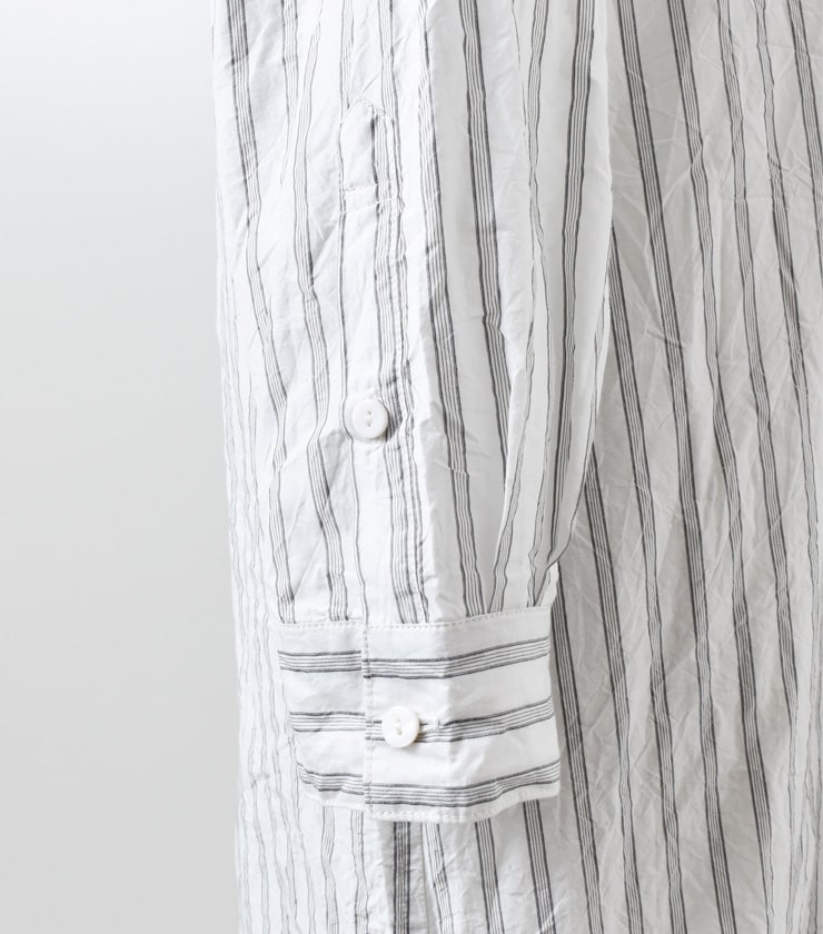 "TOUJOURS(トゥジュー)ビッグブザムシャツドレス""Big Bosom Shirt Dress"" tm30gd03"