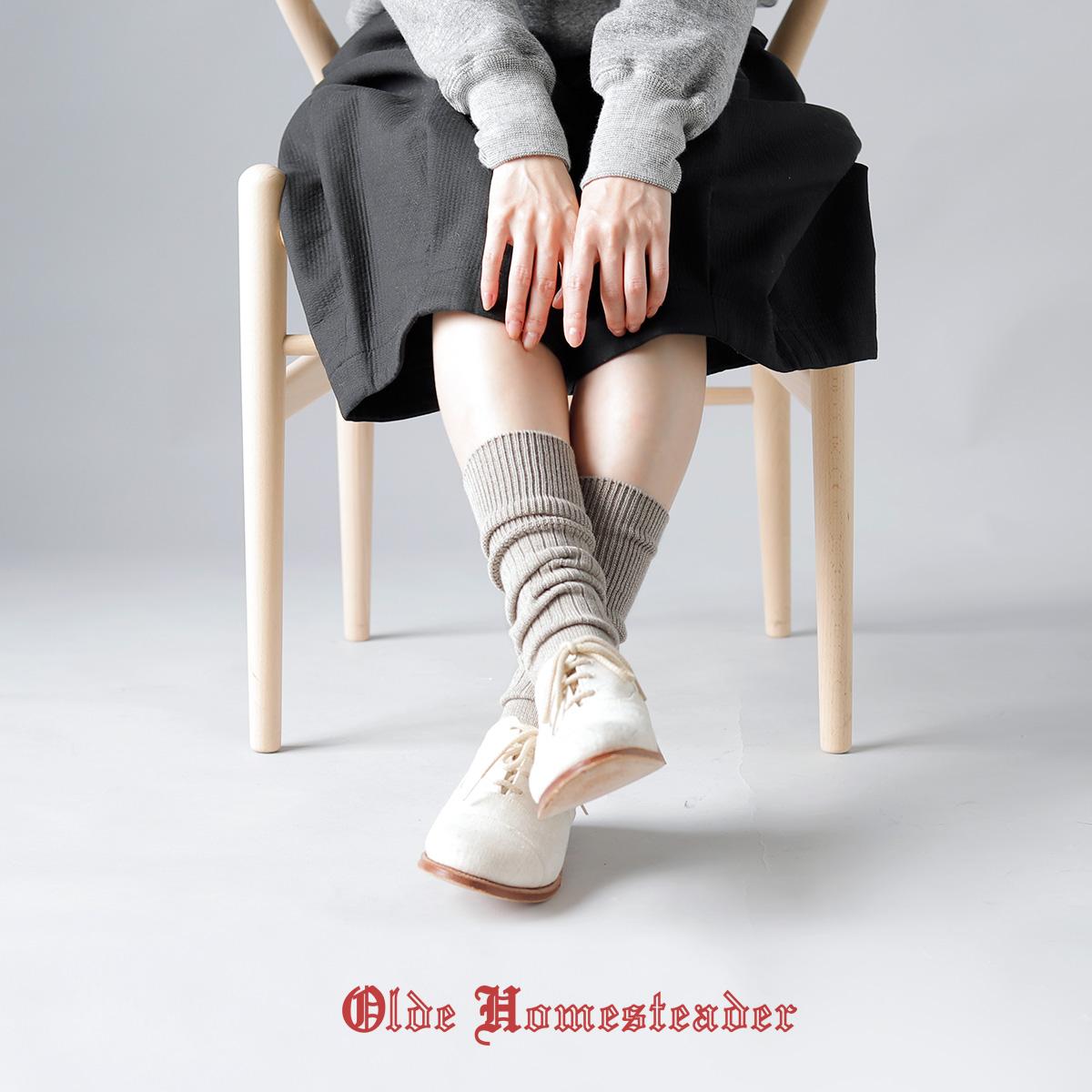 """Olde Homesteader(オールド ホームステッダー)プレーンリブソックス""""HEAVY WEIGHT SOCKS"""" hs002"""