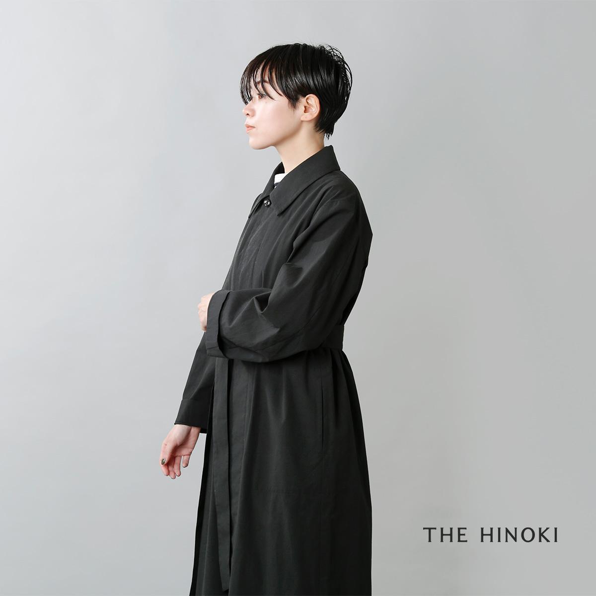 THE HINOKI(ザ ヒノキ)オーガニックコットンブロードポプリンコートドレス th20w-10