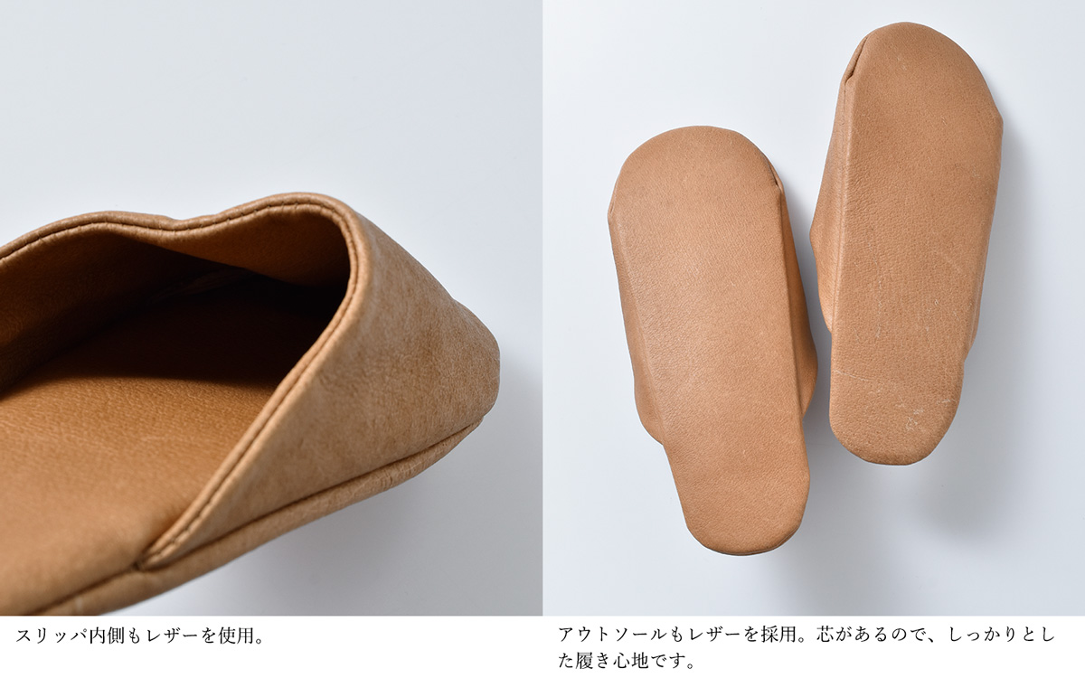 "roomshoes-ladysonor(ソナー)ピッグスキンスリッパ""SLIPPERS LADY"" slippers-lady"