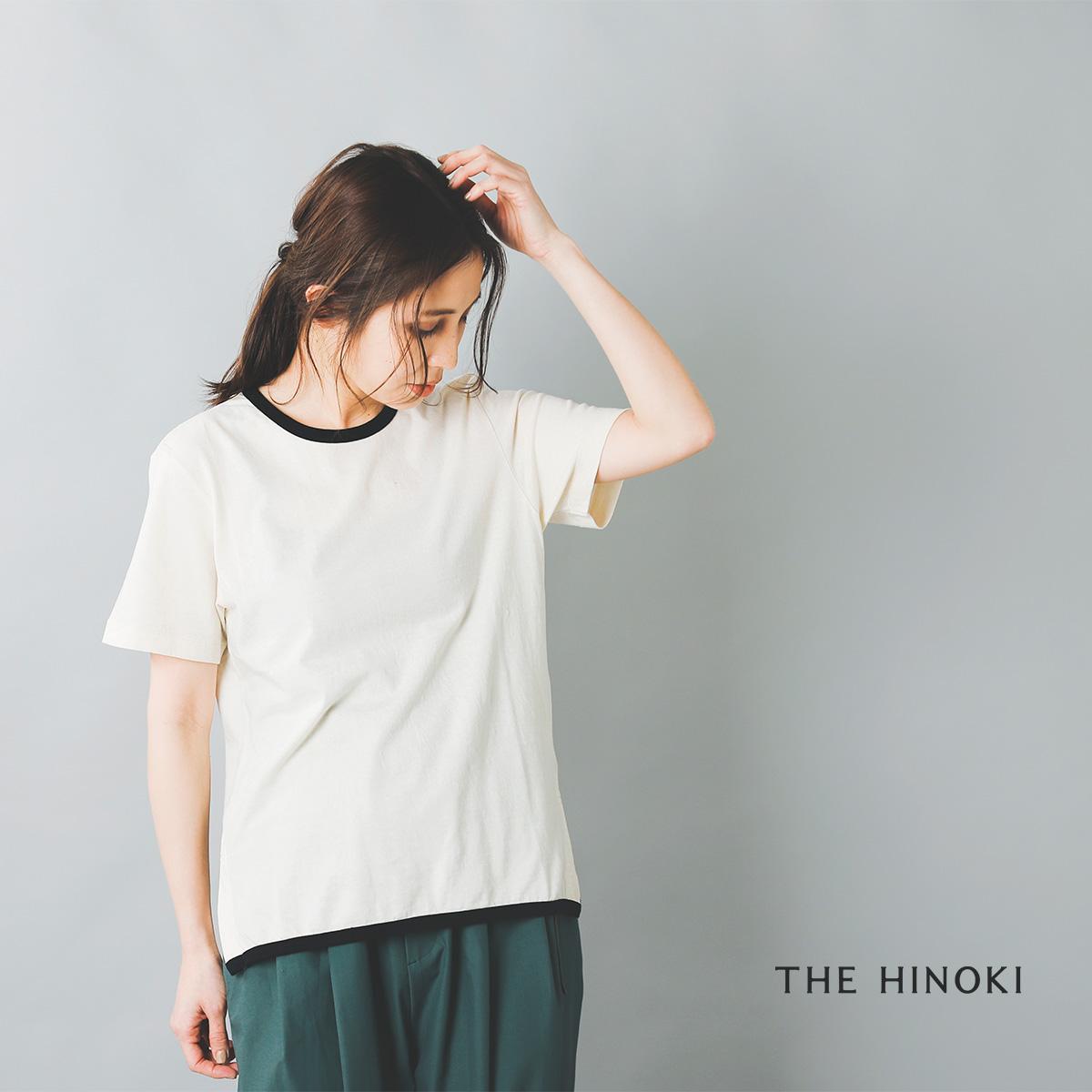 THE HINOKI(ザ ヒノキ)オーガニックコットンリンガーTシャツ th20s-33-nt