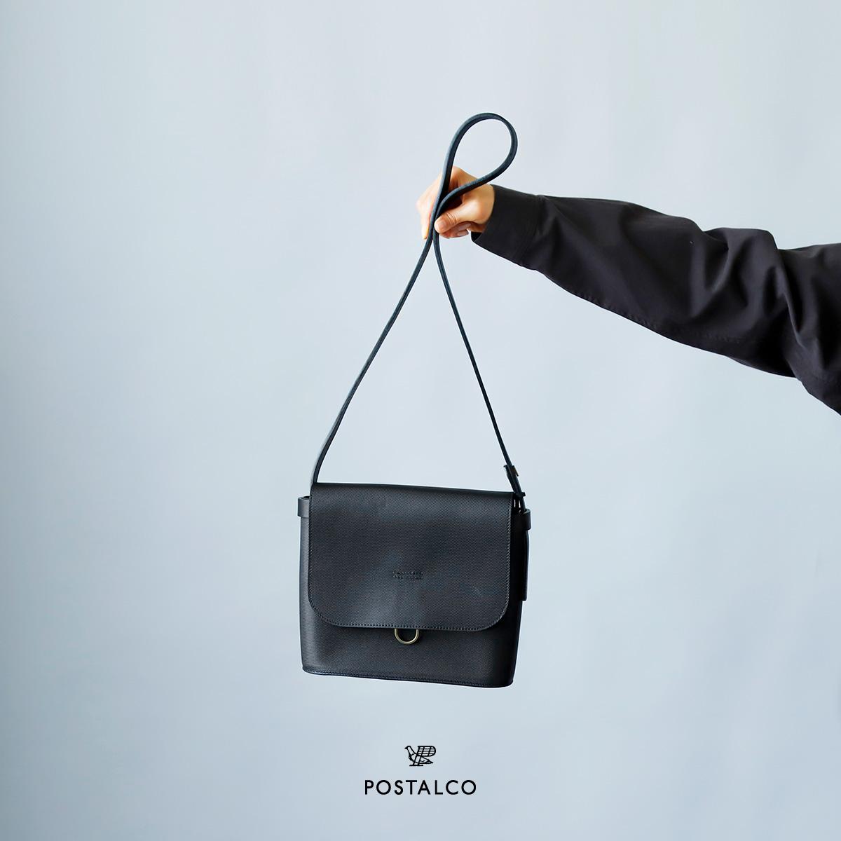 POSTALCO(ポスタルコ)クロスグレインレザー メールバッグ スモール 90085