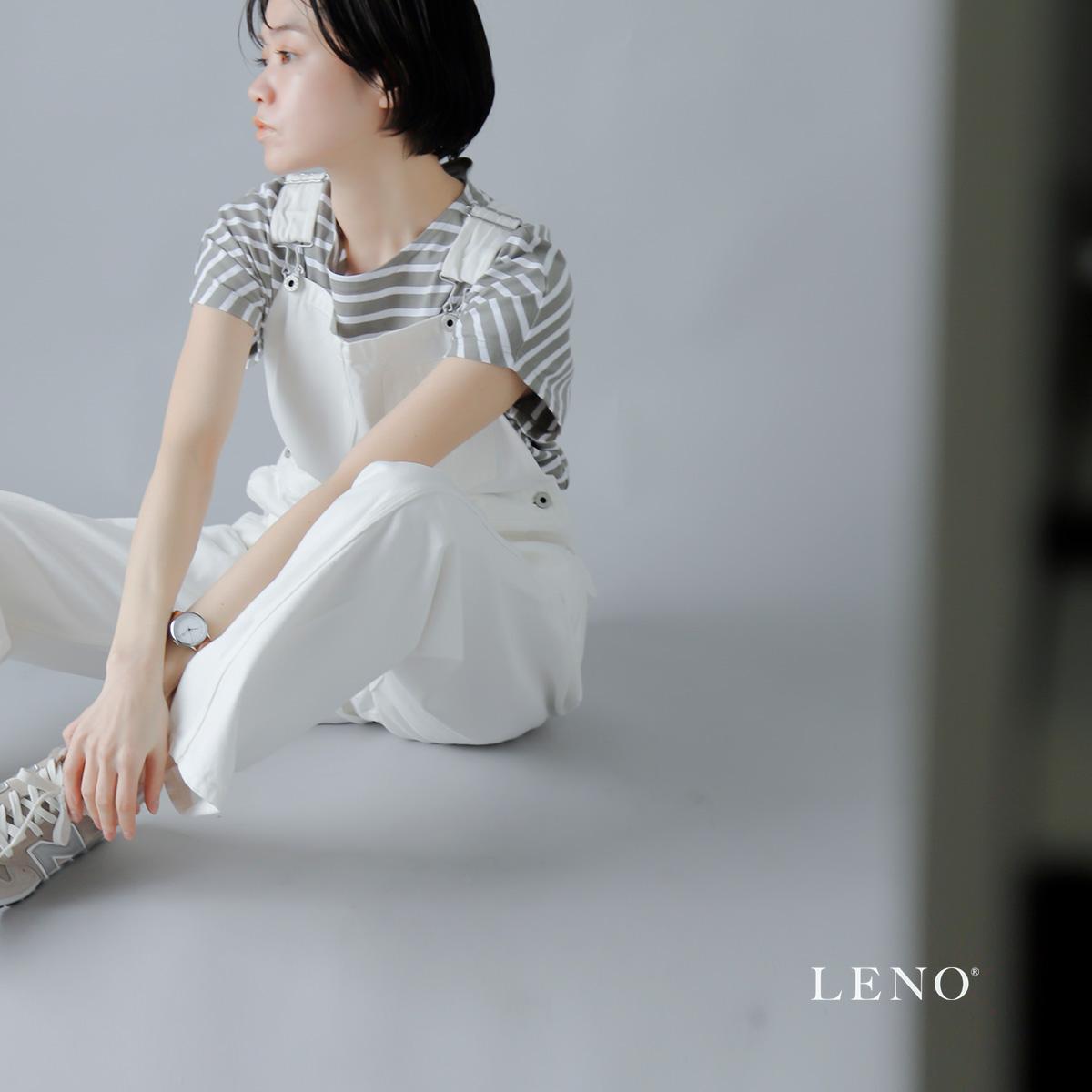 LENO(リノ)セルヴィッチデニムオーバーオール leno-pt005w