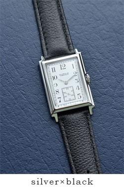 68f7b3a225 ☆】CIRCA(サーカ)レザーベルト×シルバーケース腕時計 ct115t-tr