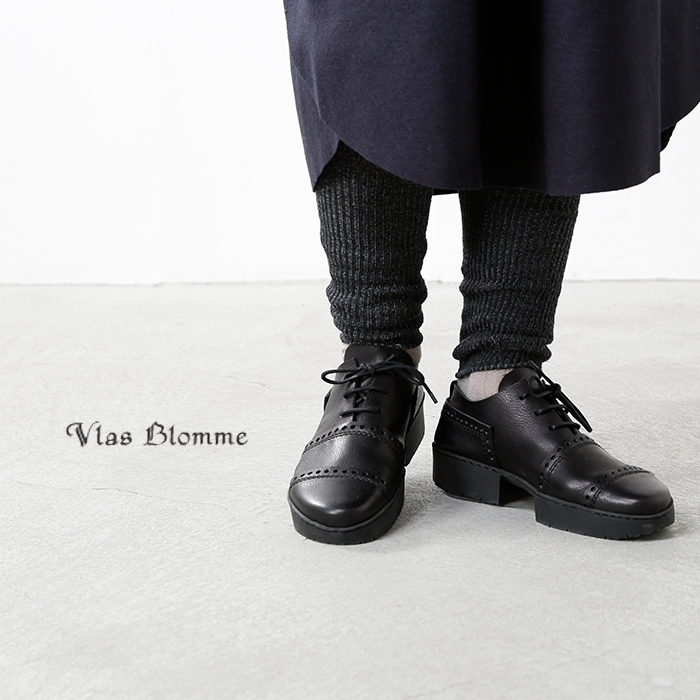 VlasBlomme(ヴラスブラム・ブラスブラム)ウールリネンリブレギンス11503351