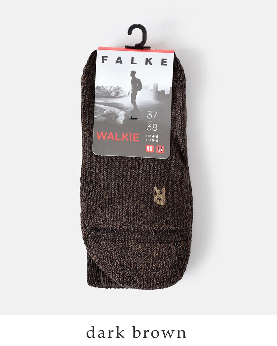 """FALKE(ファルケ)ウールミックスウォーキングソックス""""WALKIE""""16480"""