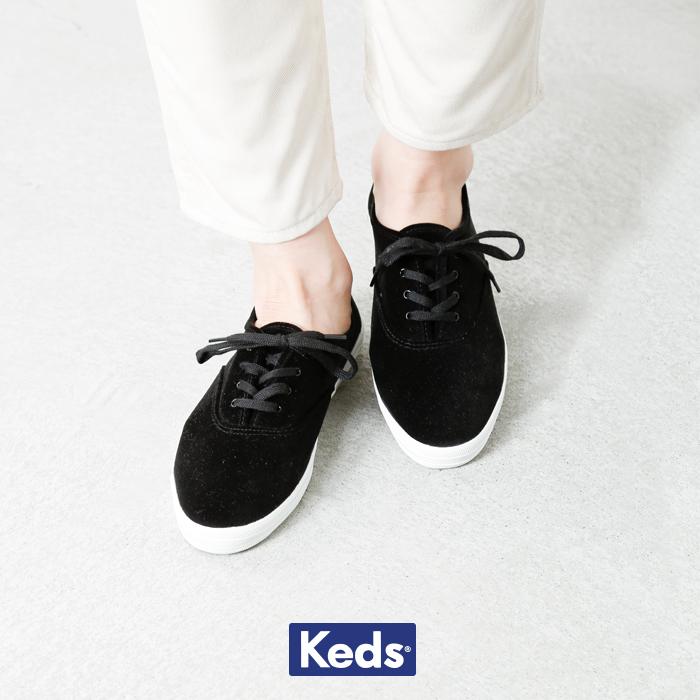 "Keds(ケッズ)ヴェルヴェットスニーカー""CHAMPIONOXFORD""4041"