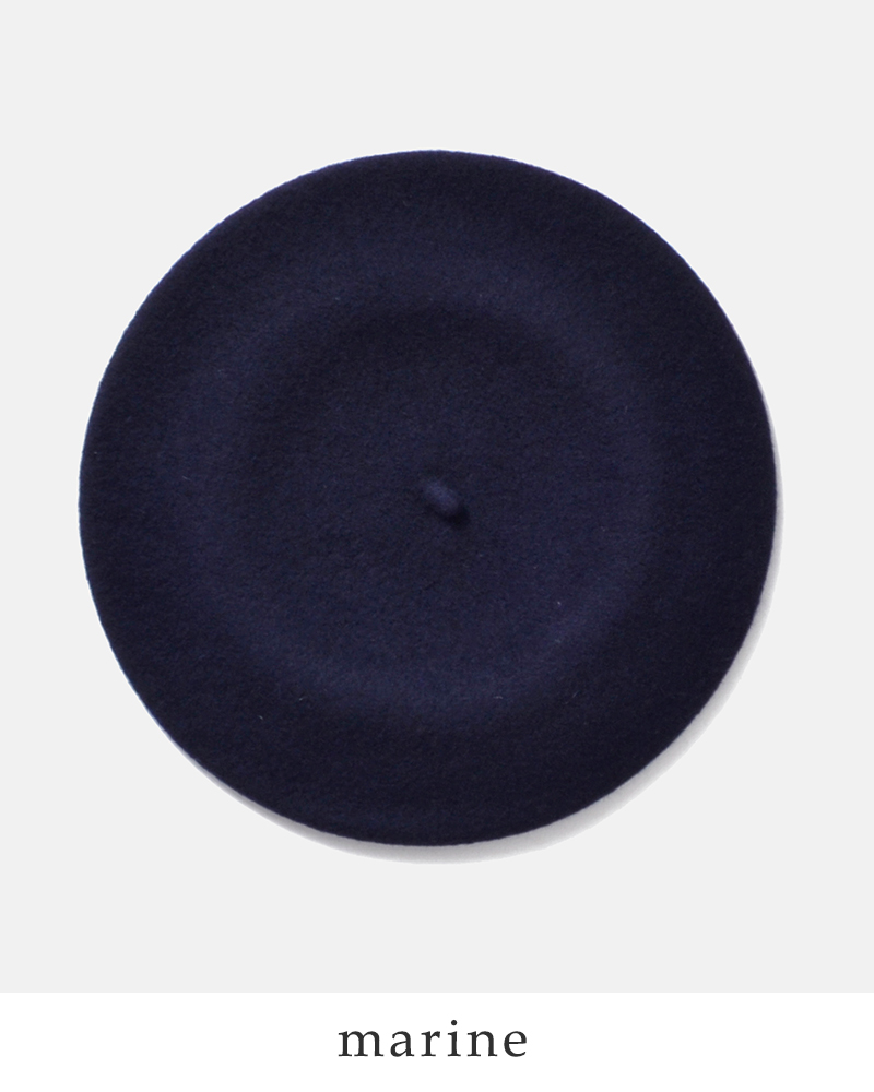 Baret(ベレット)ウールベレー帽b518