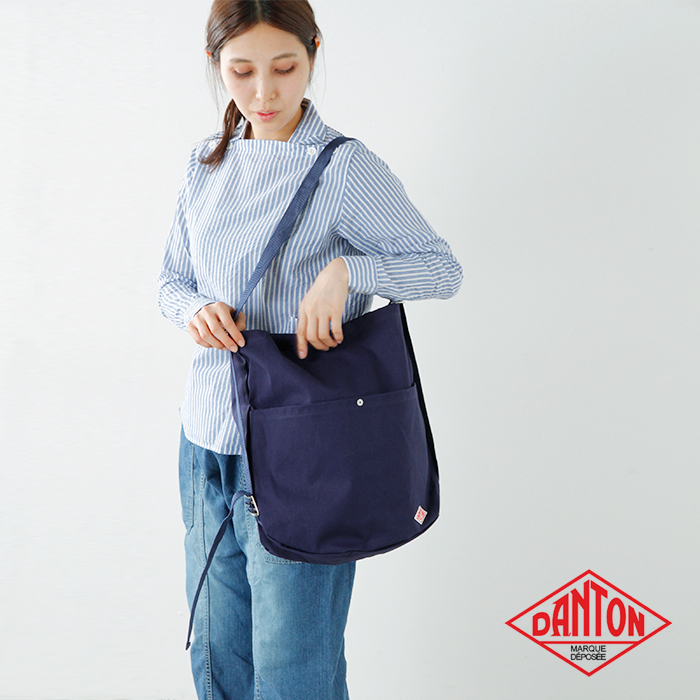"DANTON(ダントン)2wayコットンキャンバスリュック""UTILITY BAG""  jd-7092scv"