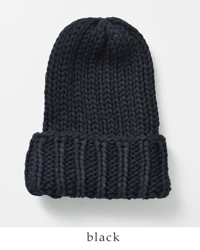 """NineTailor(ナインテイラー)ファインメリノウールブレンドニット帽""""Calmknitwatch""""n-002"""