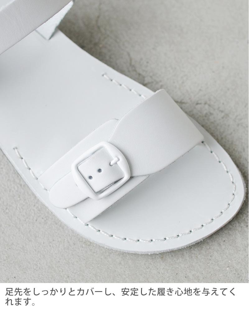 Jerusalem Sandals(エルサレムサンダル)レザーフラットベルトサンダル 1-theoriginal