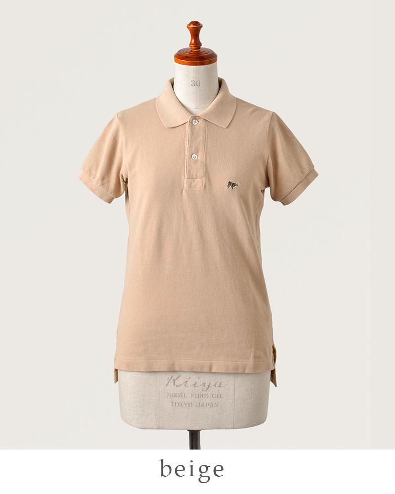 SCYE BASICS(サイベーシックス)40/1鹿の子コットンポロシャツ 5217-21577