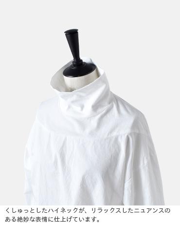 Cul de Sac(カルデサック)コットンハイネックシャツ 10585