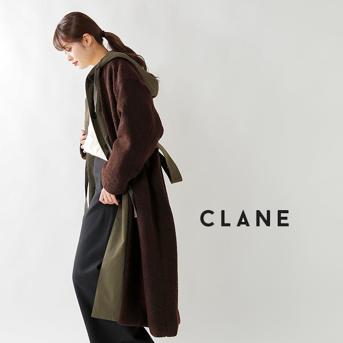 CLANE(クラネ)ミリタリーレイヤーボアコート 15101-0081