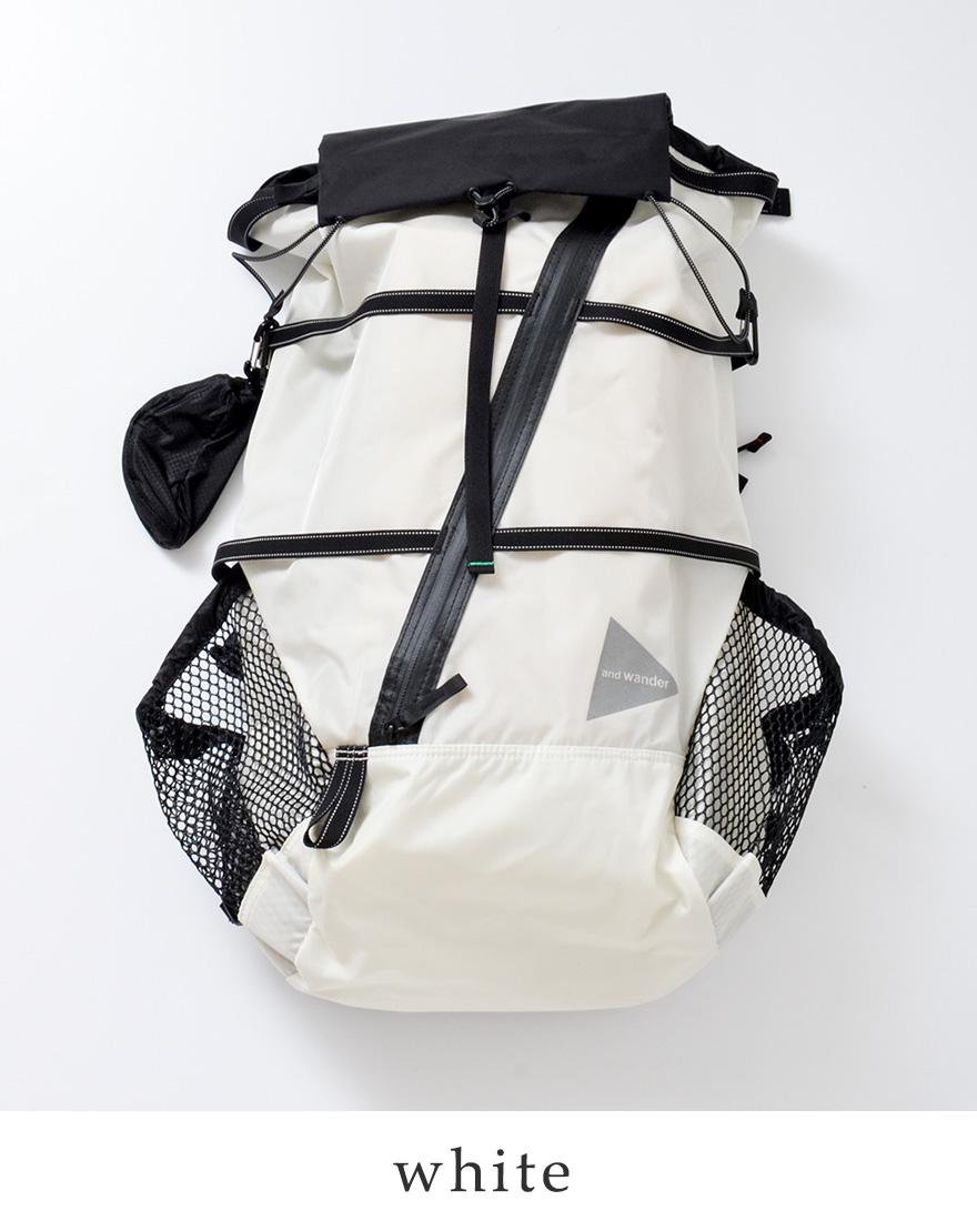 """75b62d5e1e2f and wander(アンドワンダー)コーデュラナイロン防水バックパック40L""""40L backpack"""" ..."""