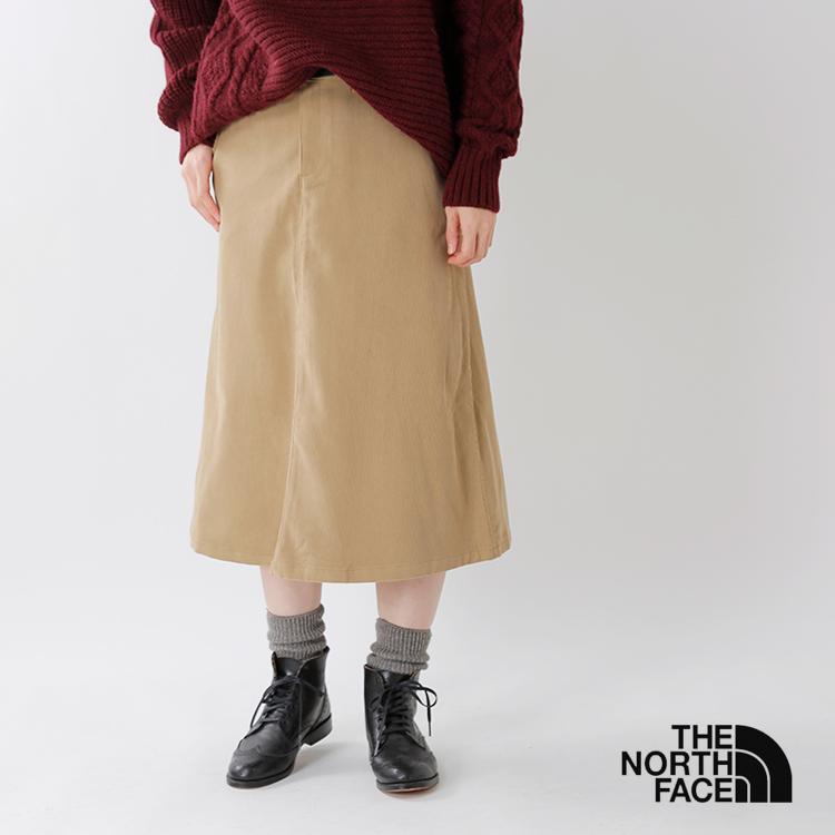 "THE NORTH FACE(ノースフェイス)ストレッチコーデュロイスカート""Stretch Corduroy Skirt"" nbw81835"