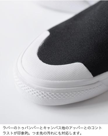 "adidas Originals(アディダス オリジナルス)キャンバスアッパースリッポンシューズ""NIZZA SLIPON W"" nizza-slipon-w"