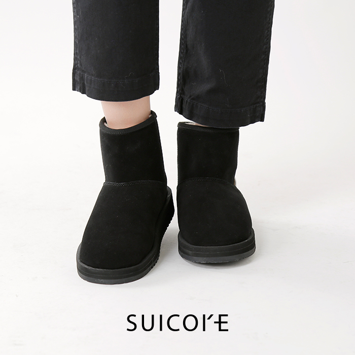 SUICOKE(スイコック)ショートムートンブーツog-080mwpab-mid