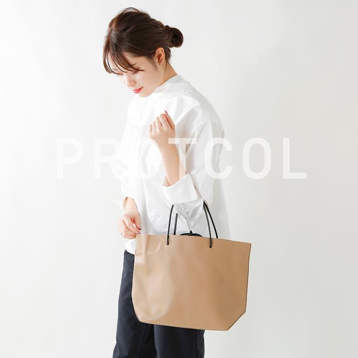 PROTCOL(プロトコール)エコレザートートバッグ p18a-09