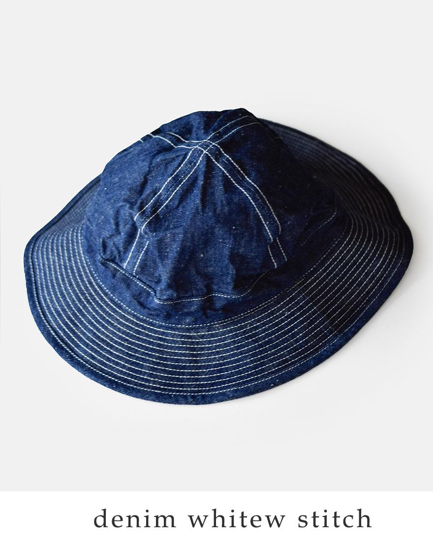 "or slow(オアスロウ)コットンステッチハット""US NAVY HAT"" 03--001"