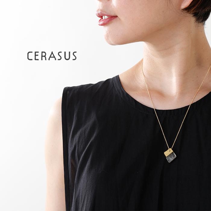 CERASUS(ケラスス)ハンドペイントカルサイトネックレス 31480771