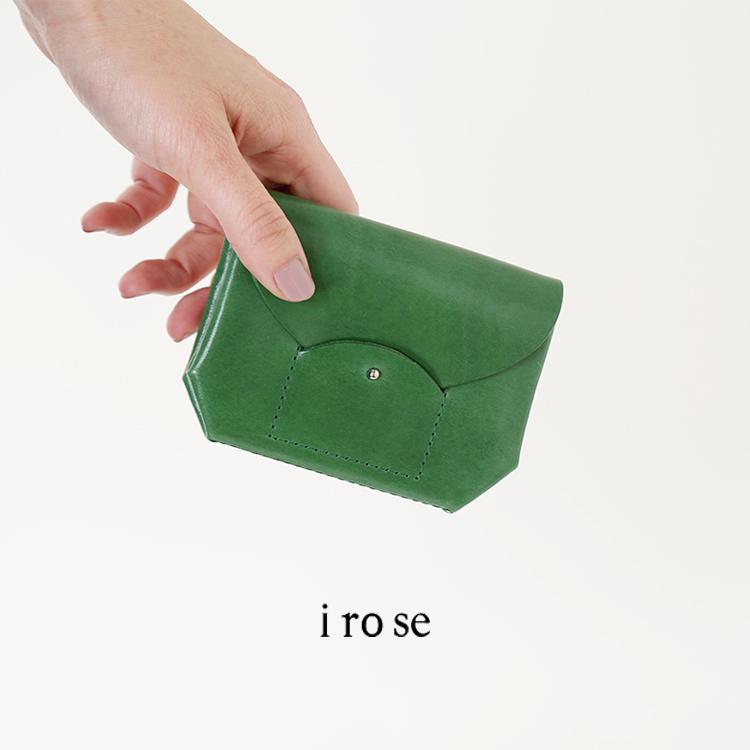 """irose(イロセ)カウレザーミニウォレット""""RICRAC""""acc-r02"""
