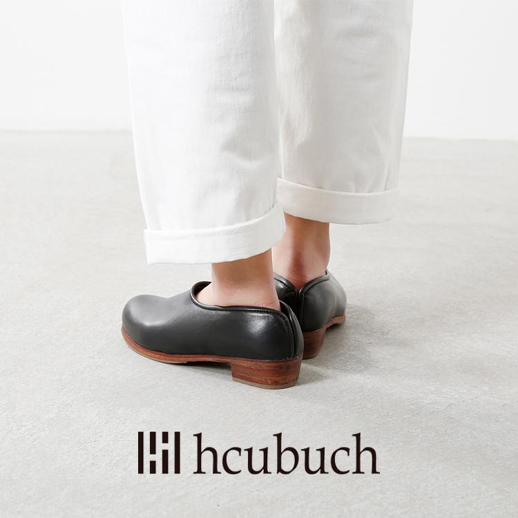 """hcubuch(フーブ)カウレザーローヒールサボ""""すずめ""""h065"""