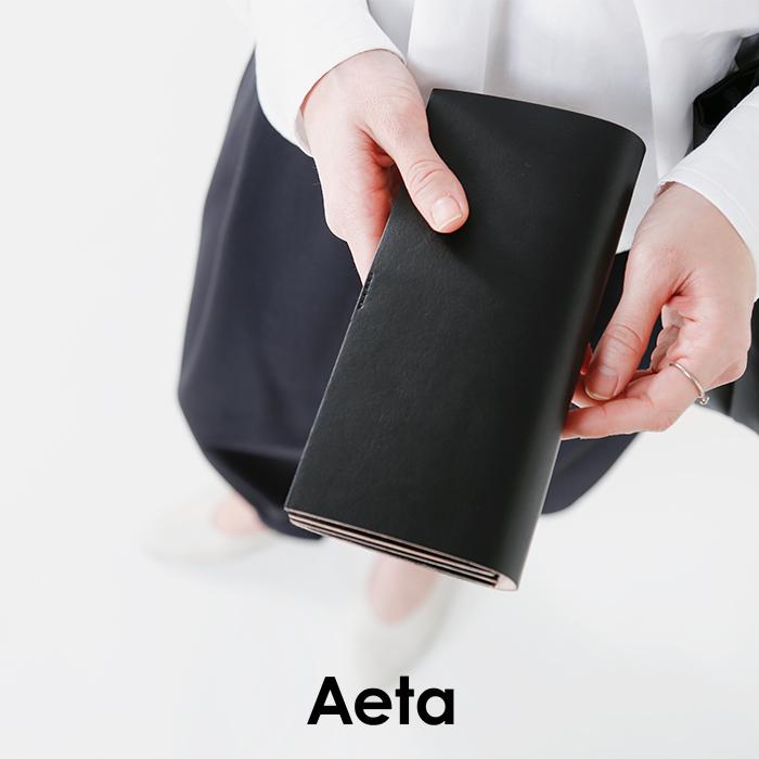"""Aeta(アエタ)キップレザーロングウォレット""""WALLE3LAYER"""" le14"""