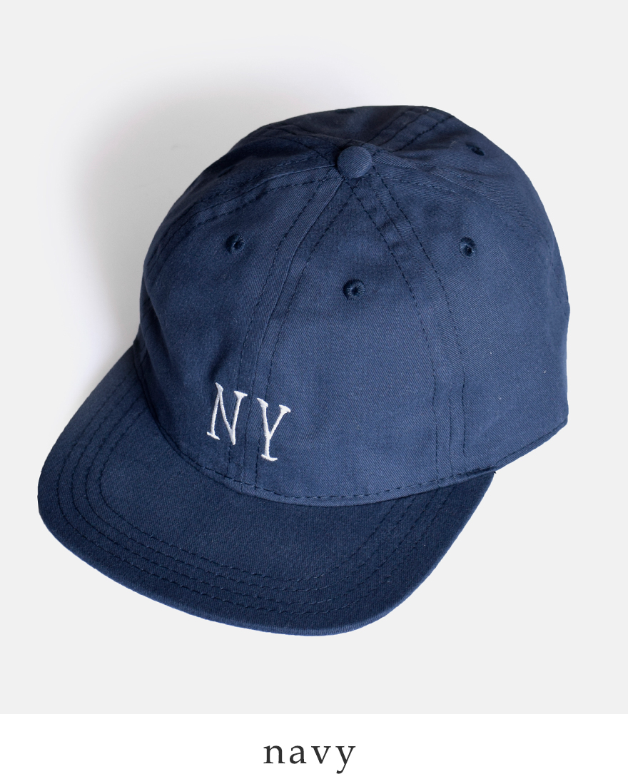 """COOPERSTOWNBALLCAP(クーパーズタウンボールキャップ)ブラッシュコットンロゴキャップ""""NEWYORKBLACKYANKEES1936""""nybyc36d"""