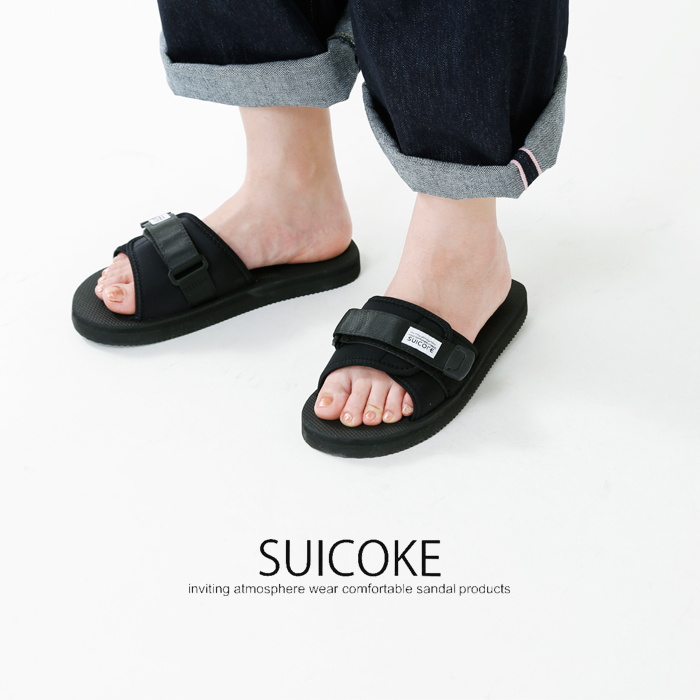 """SUICOKE(スイコック)フラットベルトサンダル""""PADRI""""og-082-padri"""
