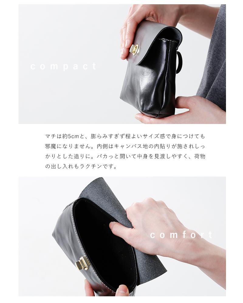 "MARINEDAY(マリンデイ)aranciato別注レザーポシェット""ROCKET""rocket"