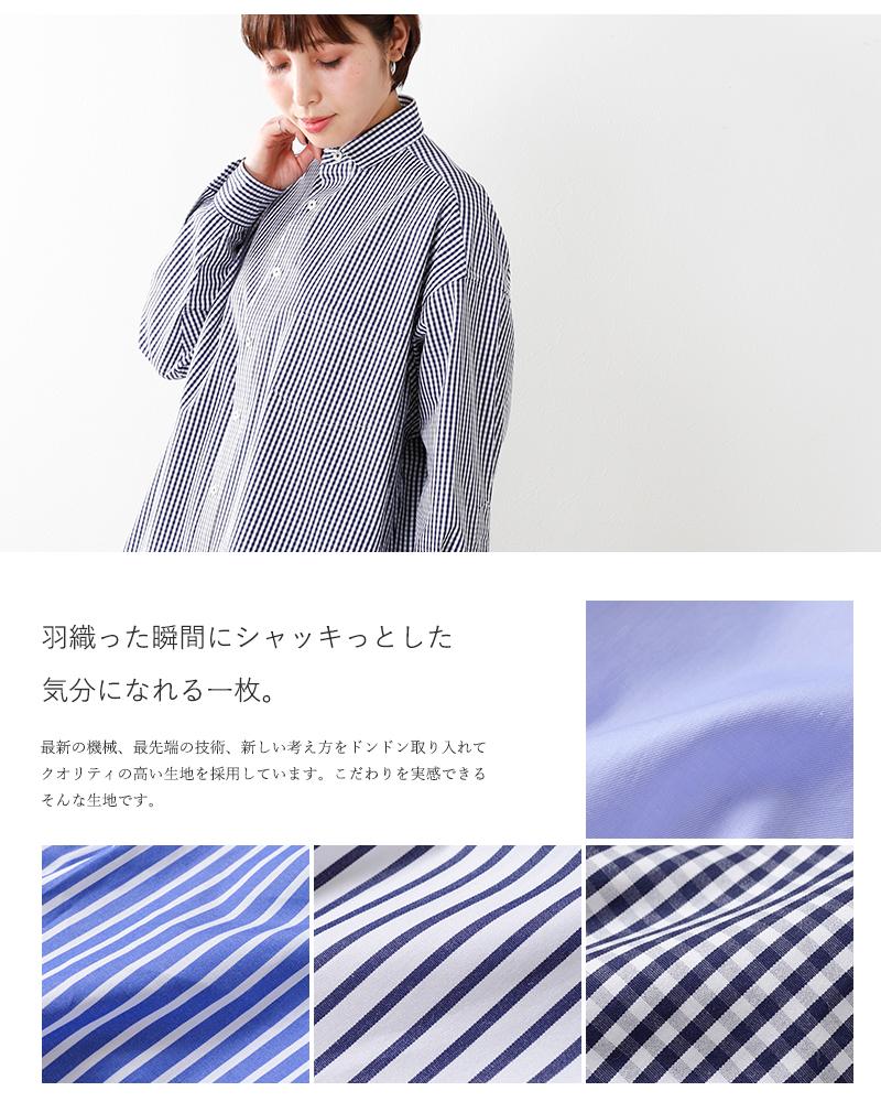 TICCA(ティッカ)コットンスクエアビッグシャツ tahs-21000