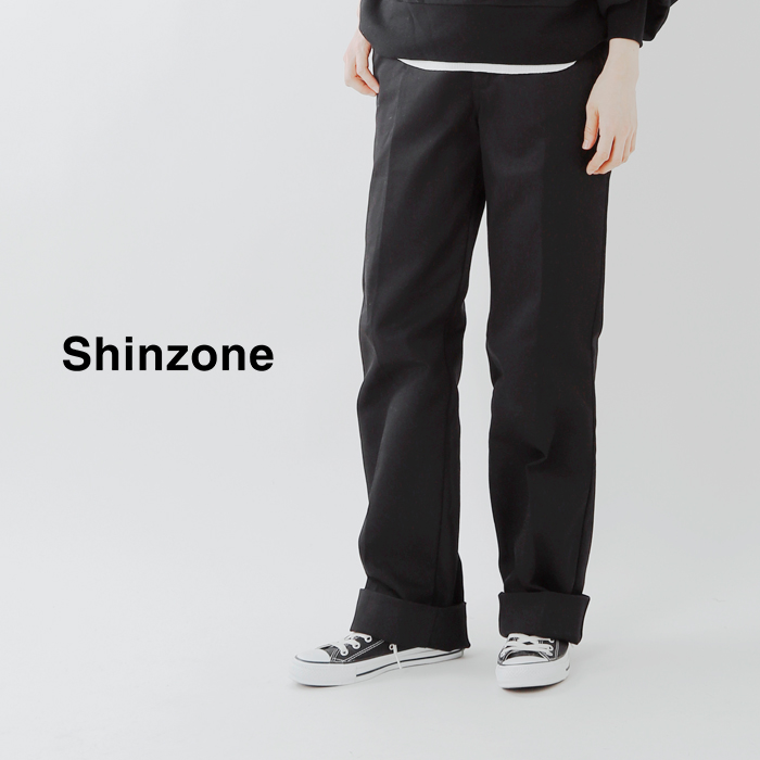 "Shinzone(シンゾーン)センタープレススケーターパンツ""SKATER PANTS"" 17amspa59"