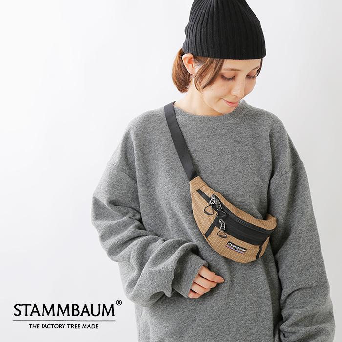 "STAMMBAUM(シュタンバウム)リップストップクロスウエストバッグ""BeechVault""1901-15-14"